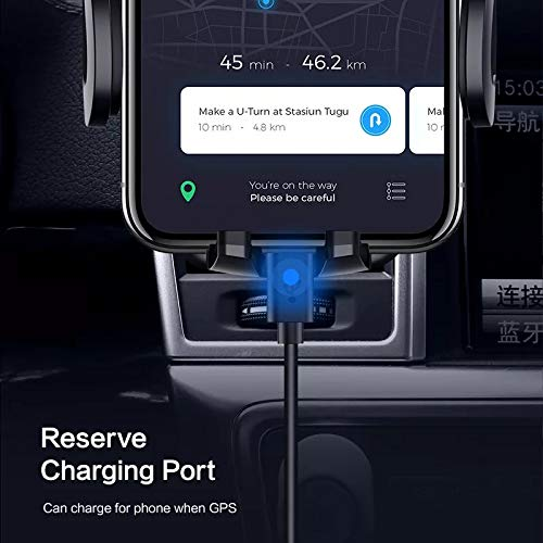 5S SE 8 Plus,7 Plus Galaxy Car Phone Mount X 6S Plus XR Gray Air Vent Car Mount For Car With Adjustable Car Phone Holder Cell Mount Telephone Holder with 360 Degree Rotation for iPhone XS Max