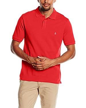 Men's Eu Slim Fit Daddy Polo Shirt