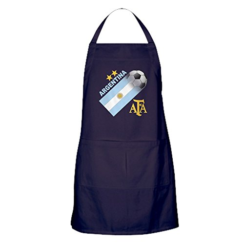 CafePress - Argentina World Cup Soccer Apron (Dark) - 100% Cotton Kitchen Apron with Pockets, Perfect Grilling Apron or Baking Apron