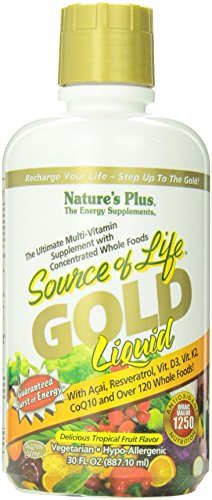 Nature's Plus - Source of Life GOLD Liquid - Tropical Fruit Flavor, 30 fl. oz.