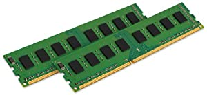 Kingston ValueRAM 4GB Kit (2x2GB Modules) 800MHz PC2-6400 DDR2 CL6 DIMM Desktop Memory (KVR800D2N6K2/4G)
