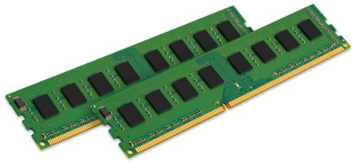 Kingston ValueRAM 4GB Kit (2x2GB Modules) 800MHz PC2-6400 DDR2 CL6 DIMM Desktop Memory (KVR800D2N6K2/4G) by Kingston Technology