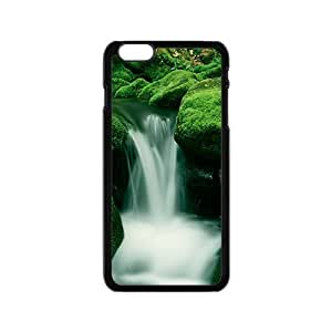 Personalized Creative Cell Phone Iphone 5C ,charming silk stream and green rocks