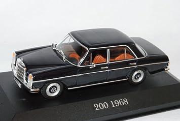 Ixo Mercedes Benz 200 Strich Acht Limousine Blau W114 1 43 Modell Auto Mit Individiuellem Wunschkennzeichen Spielzeug