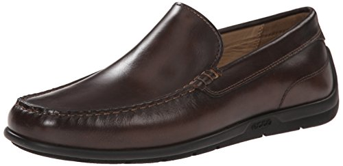 Mens Classic Moccasin - ECCO Men's Classic Moc 2.0 Slip On Loafer, Coffee, 43 EU/9-9.5 M US