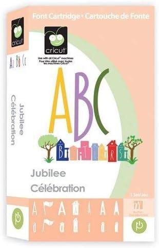 Jubilee by Provo Craft /& Novelty Cricut Cartridge