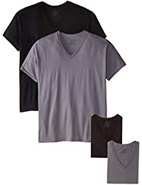Men's 5-Pack V-Neck T-Shirt