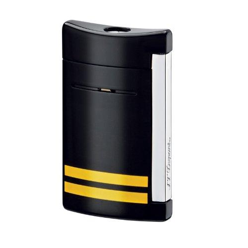 st-dupont-minijet-all-black-torch-flame-lighter