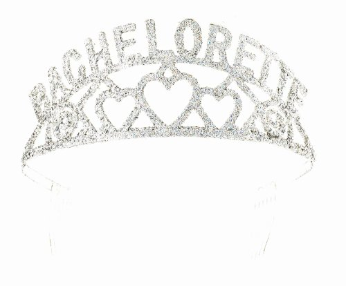 [Forum Novelties Glitter Tiara (Bachelorette)] (Discount Christmas Costumes)