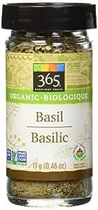 365 Everyday Value Organic Basil, 0.46 oz