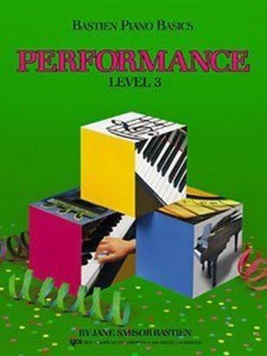 Bastien Piano Basics - Performance Level 3 Book