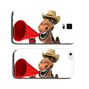Fun horse cell phone cover case iPhone5