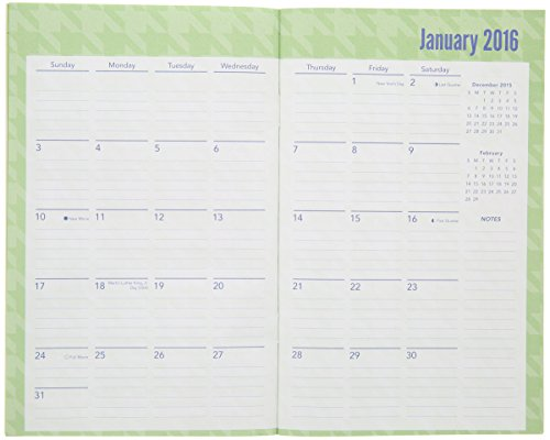 2016-2017 2 Year Monthly Planner - Green Photo #3