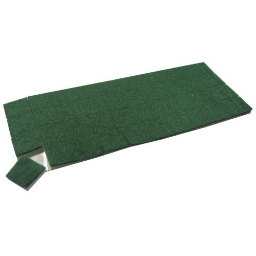 Amazon Com Green Felt With Cling Foam Cushion Pads 3 32 Thick X 3