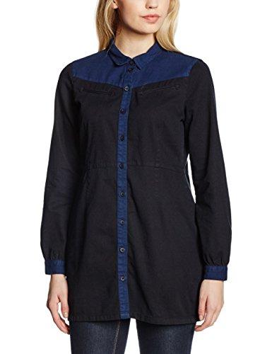 Vero Moda Ruby - Camisa para mujer Azul (Medium Blue Denim)