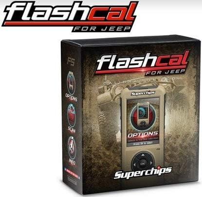 Superchips Flashcal F5 Calibration Tool Fits 2007-2018 Jeep Wrangler JK