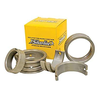 EMPI Air Cooled VW Silverline Steel Back Main Bearing Set, STD/STD 1200-1600 98-1461-S: Automotive