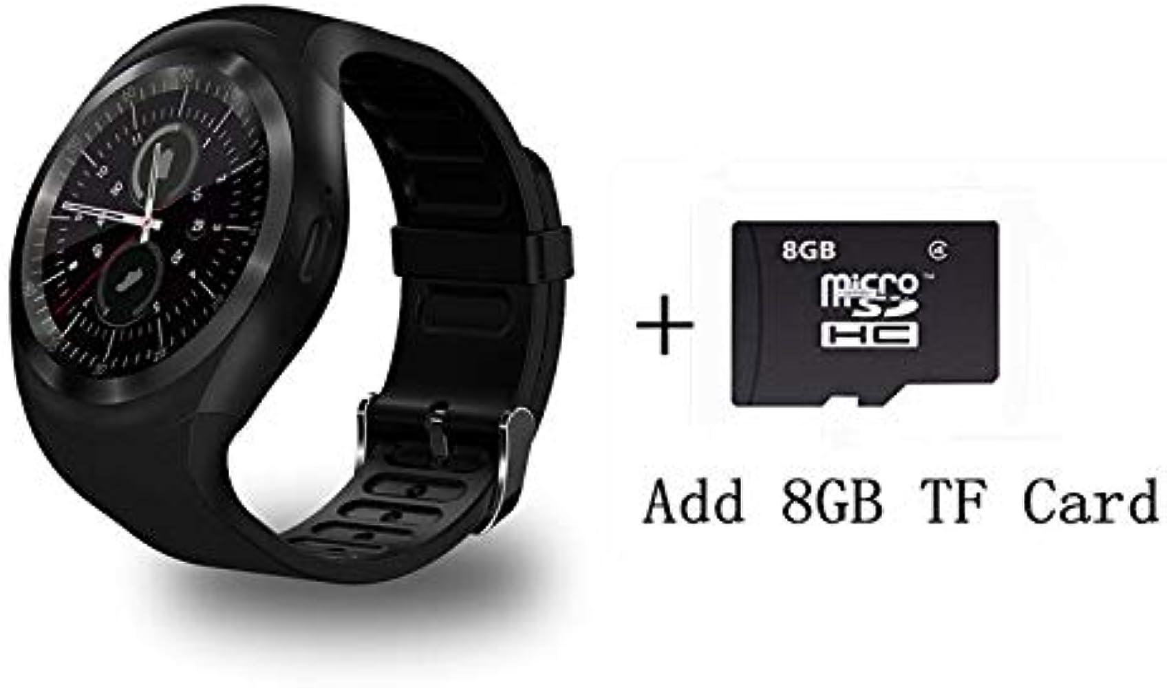 Y1 de Smart Watch Soporte Nano SIM Card y Tarjeta de TF con ...