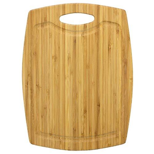 Totally Bamboo GreenLite Dishwasher Safe Bamboo Cutting Board, Cascade Series 12