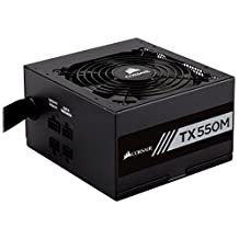 Corsair CP-9020133-NA TX Series TX550M 550W 80 Plus Gold Modular Power Supply