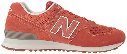 547 New Para Zapatillas Medium Balance Hombre Rojo f65q5vZw0