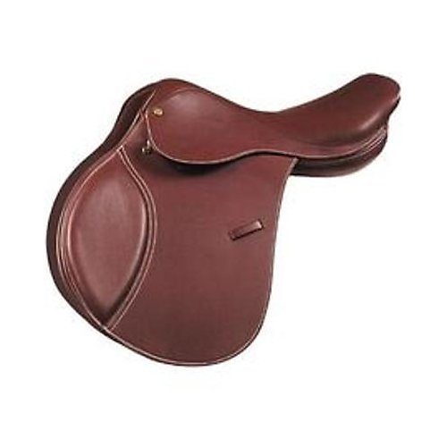 (Kincade Child's Leather Close Contact W Saddle, Brown, Size)