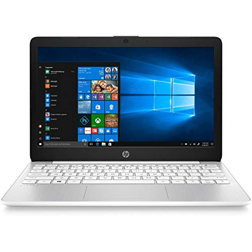 HP Stream 11-AK0002NA 29.5 cm (11.6″) Laptop 1366 x 768 pixels Intel Celeron N4000 2GB DDR4-SDRAM 32 GB eMMC Wi-Fi 5 (802.11ac) Bluetooth Windows 10 S – UK Keyboard Layout – Plain Box (Renewed)