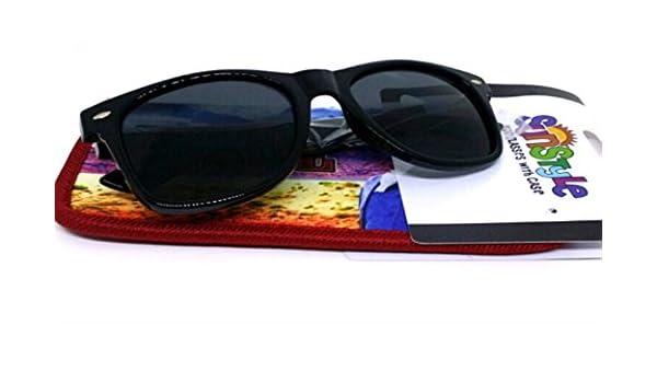 Spoontiques John Wayne Sunglasses with Coordinating Soft Sunglass Case