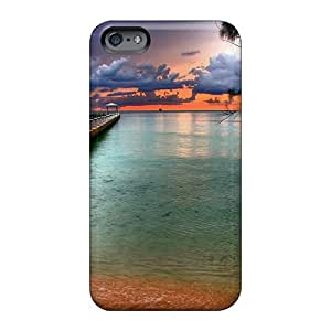 Excellent Hard Phone Cover For Apple Iphone 6s Plus With Unique Design Colorful Rum Point On The Cayman Isl Pictures Case88zeng