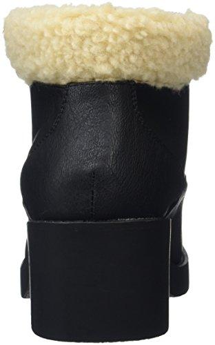New Look Bear Shearling, Botines Mujer Negro (black/01)