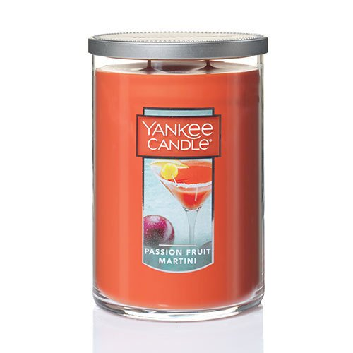 Yankee Candle Large 2-Wick Tumbler Candle, Passion Fruit Martini -