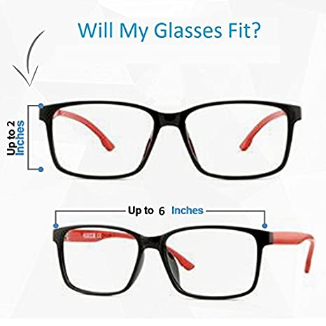 3 Pack Soft Eyeglass Slip in Cases for Women /& Men In A Variety of Colors /& Patterns
