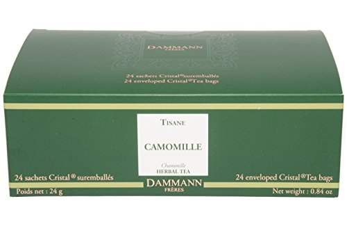 New Orleans Salad (DAMMANN FRERES Chamomile Tea, 24 Cristal Teabags)