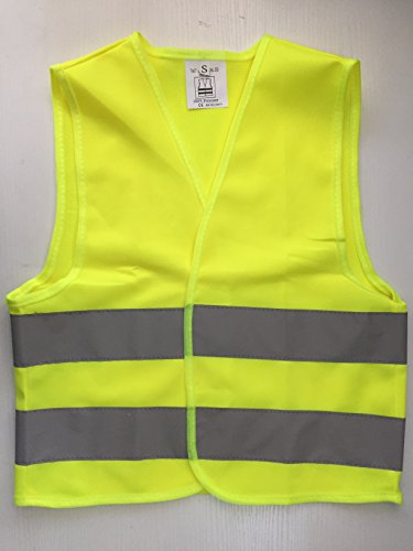 Jocon Safety Kids High Visibility Reflective Safety Vest for Costume Running Cycling Size - Costume Bike