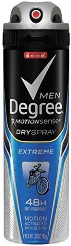Degree Men Dry Spray Antiperspirant, Extreme 3.8 oz (Pack of 6)
