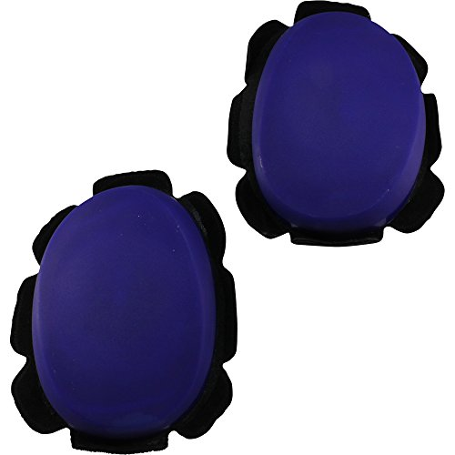 - Sumomoto Motorcycle Racing Blue Hard Plastic Knee Sliders Track and Street