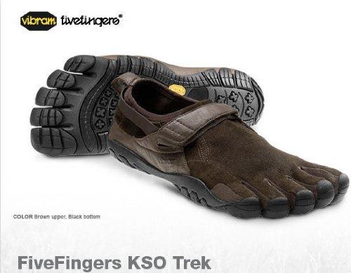 Vibram FiveFingers Women's KSO Trek Shoes Brown/Brown - Fivefingers Kso
