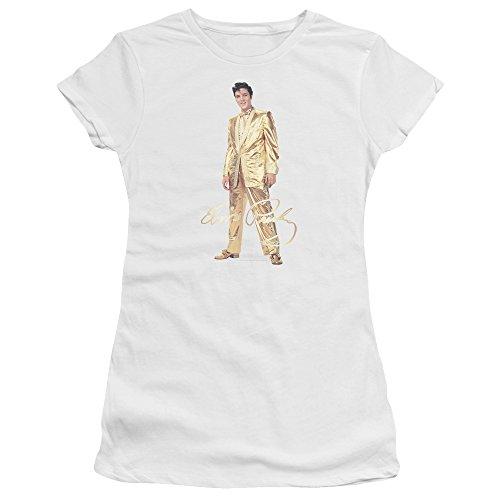 (Elvis Gold Lame Suit Juniors Premium)