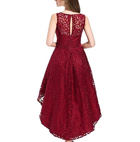 Prom Collo Irregolari Rosso Dolce Ragazza Matrimoni Banchetti Donne Jingliya Vestito Le Elegante Al Red Compleanni O4qE8w5x