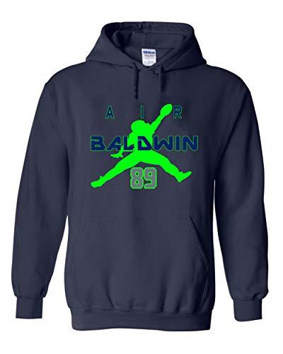 Navy Seattle Baldwin Air Hooded Sweatshirt ()