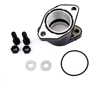 labwork-parts intake manifold boot joint carburetor fits for yamaha warrior  yfm350 1987-2004