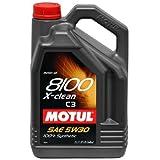 Motul 8100 X-Clean 5W30 5L (Pack of 2)