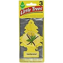 12 Pack Car Freshner 10105 Little Trees Air Freshener Vanillaroma Scent - Single Tree per Package