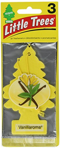 Top air freshener car little tree