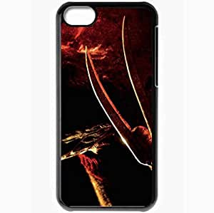Personalized iPhone 5C Cell phone Case/Cover Skin A Nightmare On Elm Street 2010 Black
