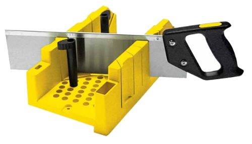 (Stanley 1-20-600 Saw Storage Miter Box with Saw,)