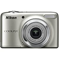 Nikon Coolpix L25 10.1MP Compact Digital Camera (Silver) (Certified Refurbished)
