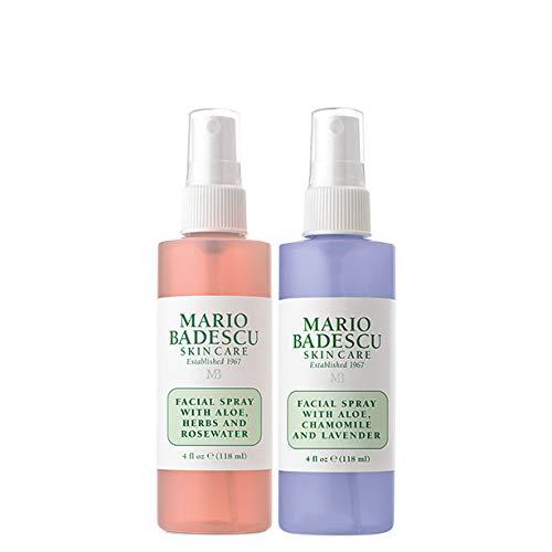 Mario Badescu Rosewater Facial Spray and Lavender Facial Spray Duo, 4 oz. by Mario Badescu
