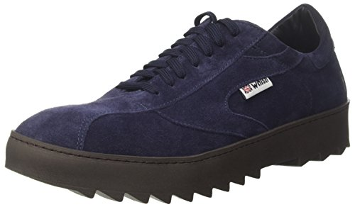 Walsh Vripple Wrapper Sole, Sneakers Uomo Blu (Navy Suede)
