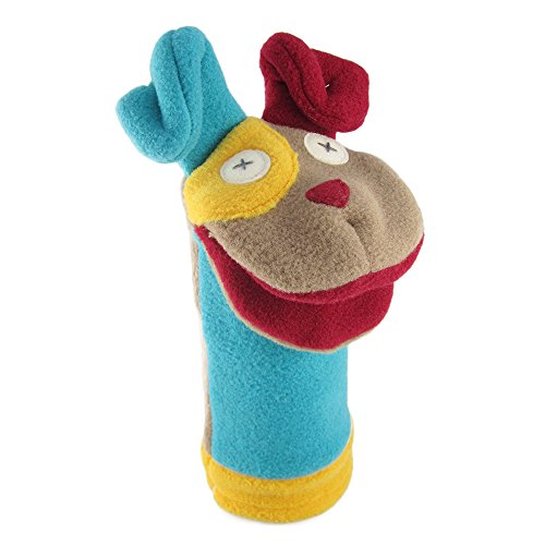 - Cate & Levi - Fleece Hand Puppet - Handmade in Canada - Great for Storytelling (Puppy Dog)